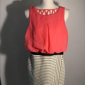 Speechless midi dress - Size S